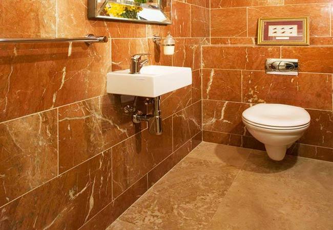 Łazienka - posadzka, ściany